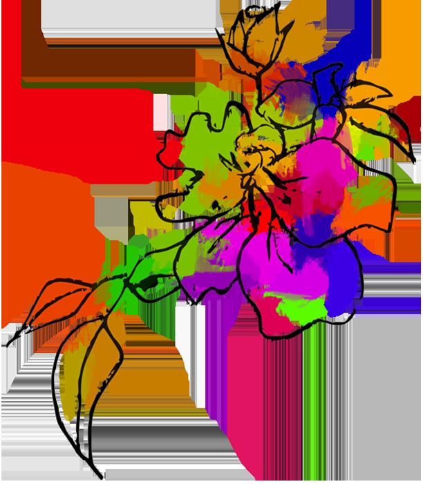Logo Faites une fleur atelier floral