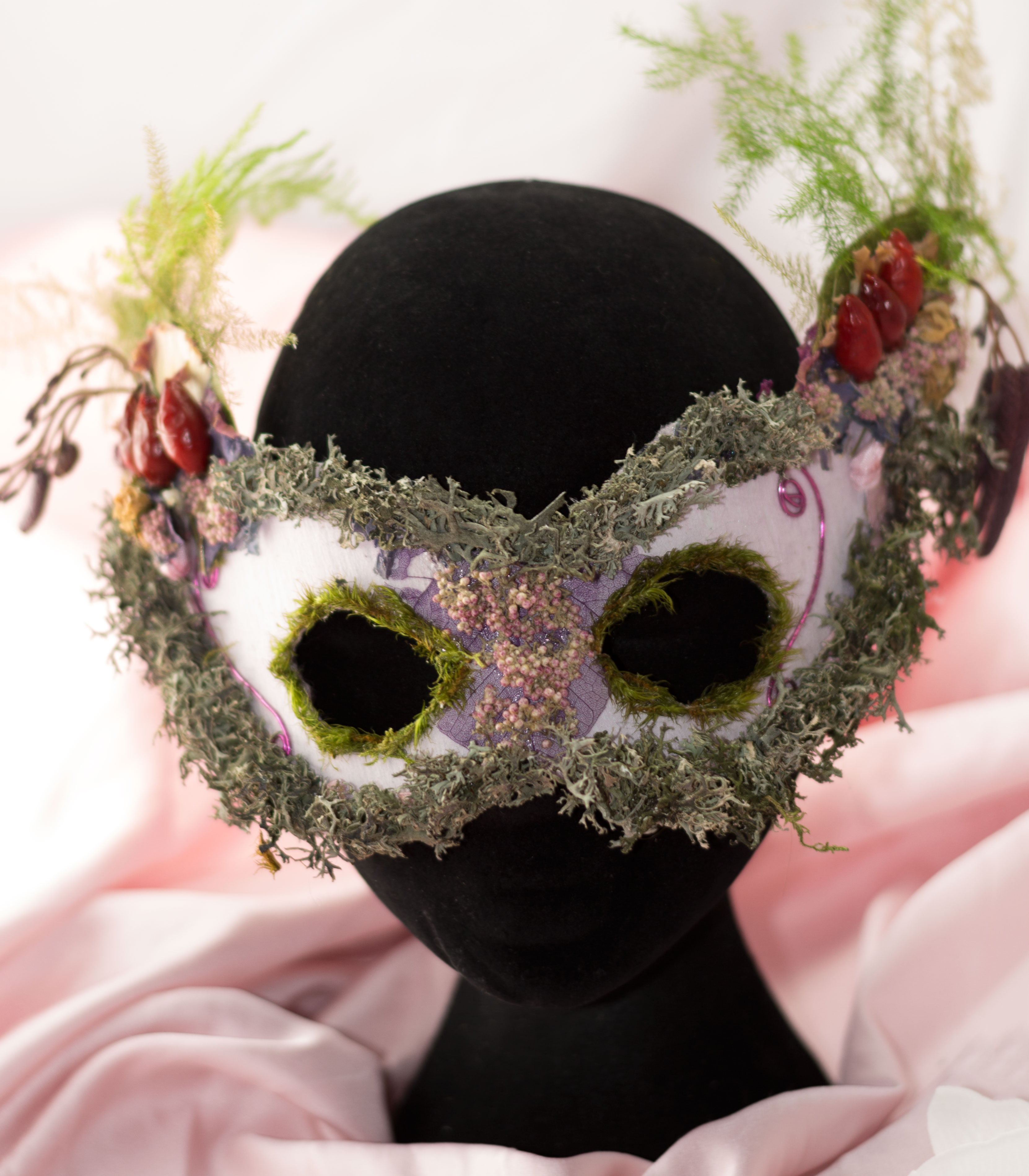 Masque végétal carnaval