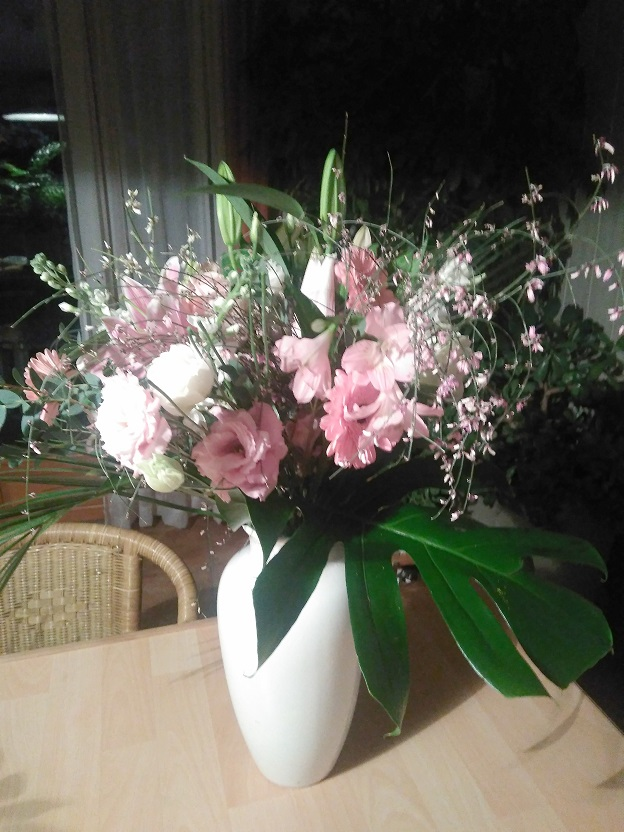bouquet printanier romantique champetre