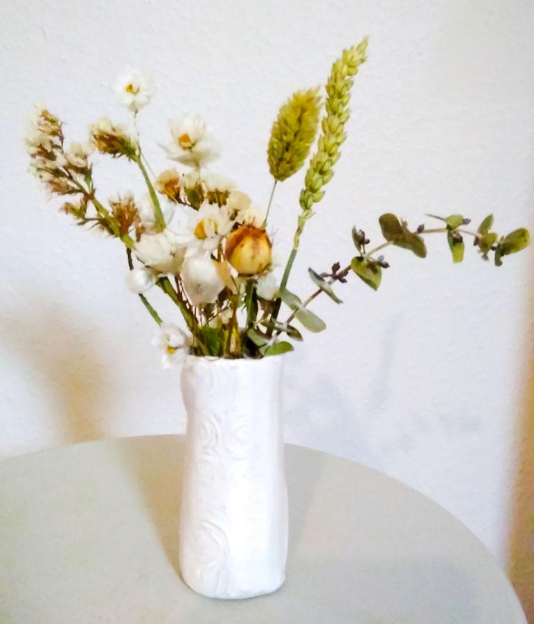 Vase fleuri Hortense