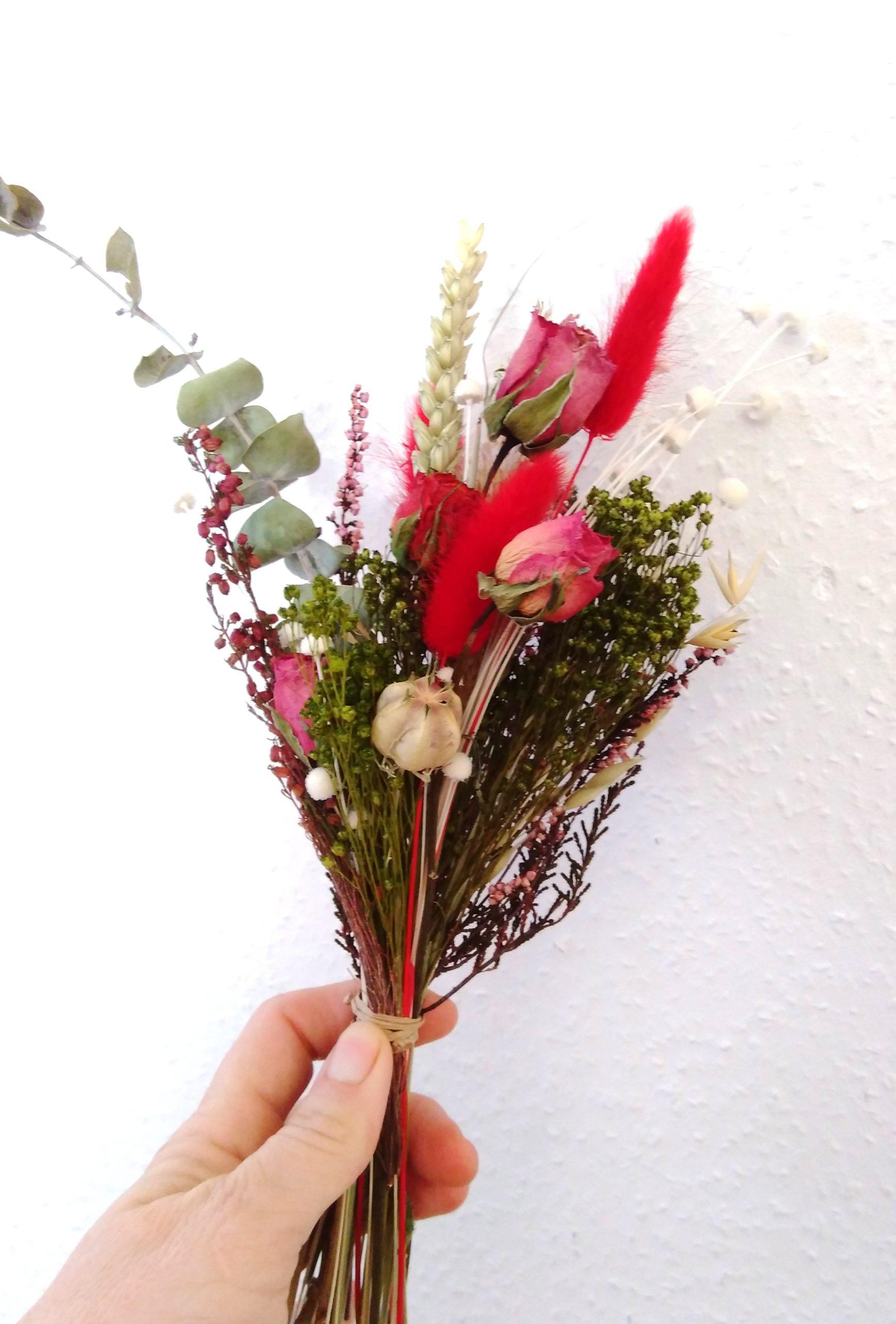 Bouquet de fleurs séchées Charlotte