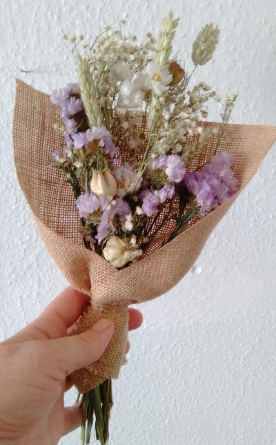 Bouquet de fleurs séchées Jeanne